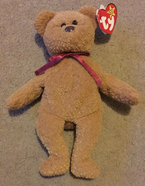 Ty Curly Beanie Baby With Errors