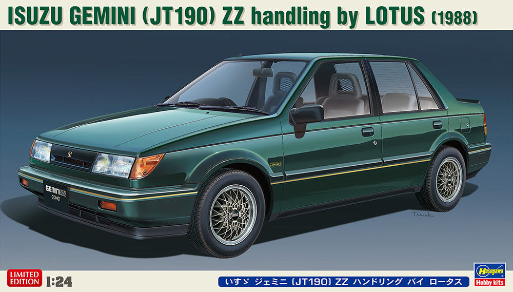 Hasegawa 1 24 Isuzu Gemini (JT190) ZZ handling by Lotus (1988)