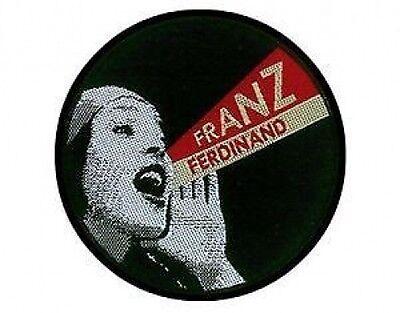 FRANZ FERDINAND so much better - WOVEN SEW ON PATCH official merchandise