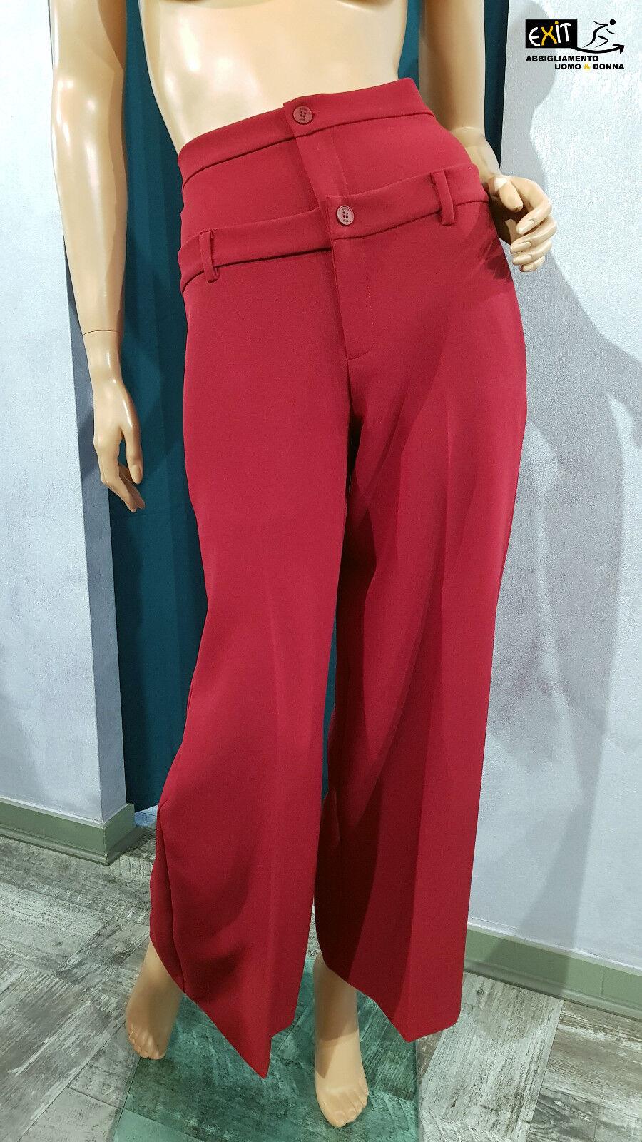 Denny rosa pantalone vita alta art. 821DD20002 821DD20002 821DD20002 collezione autunno-inverno 2018 e1726a