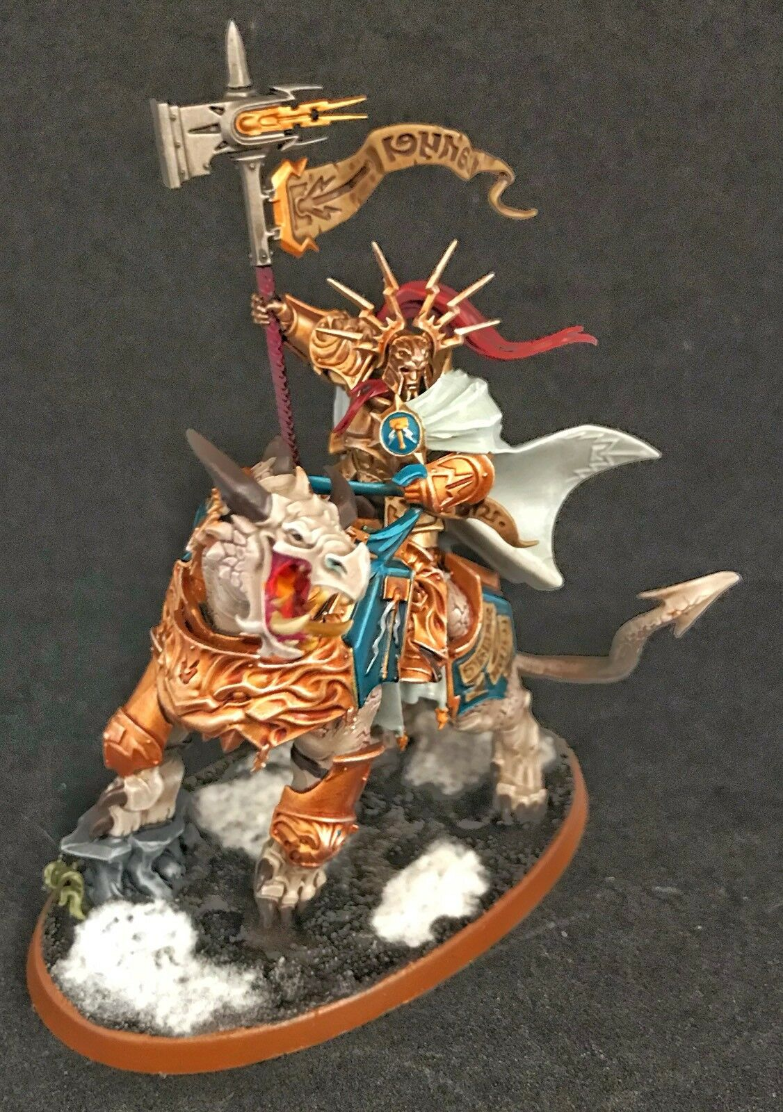 Vandus Hammerhand   Lord-Celestant - - Stormcast Eternals Ready To Ship