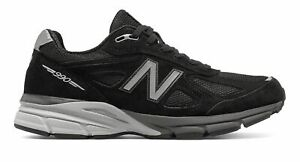New-Balance-Men-039-s-Made-in-US-990v4-Shoes-Black