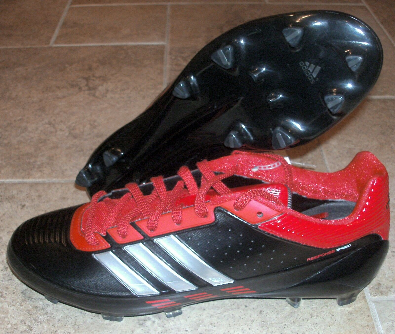 NEW ADIDAS RESPONSE SPEED Football Cleats Mens 9 Price reduction Seasonal clearance sale