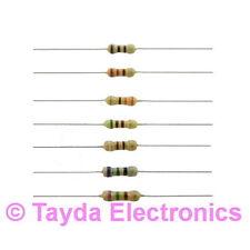 100 x 4.7K 4K7 Ohms OHM 1/4W 5% Carbon Film Resistor - FREE SHIPPING