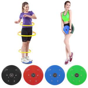 Twist-Waist-Torsion-Disc-Board-Aerobic-Exercise-Fitness-Reflexology-Magnets-New