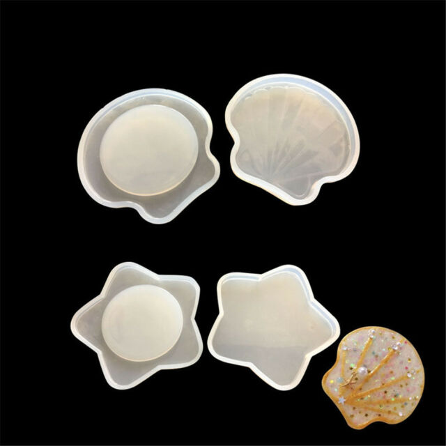 DIY Silicone Seashell Mold Making Pendant Resin Casting Mould Craft Tool LY
