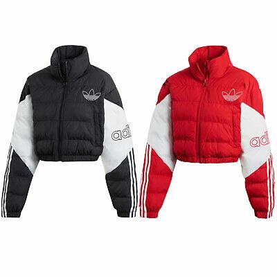 adidas Originals Cropped Puffer Jacket Damen Winterjacke Steppjacke Bauchfrei | eBay
