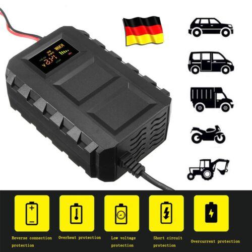 Batterie Ladegerät Batterieladegerät Car Motorcycle Battery Charger 12V 20A DE