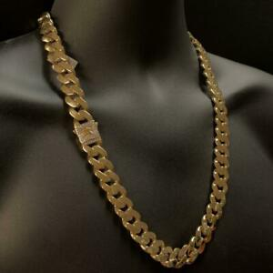 10kt Yellow Gold Monaco Miami Cuban Link Chain 15mm 26 Inches Canada Preview