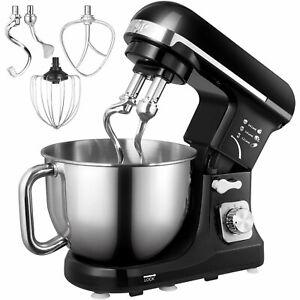 Robot-Patissier-Multifonction-Cuisine-Boulangerie-6-Vitesses-Bol-Inox-5L-1000-W