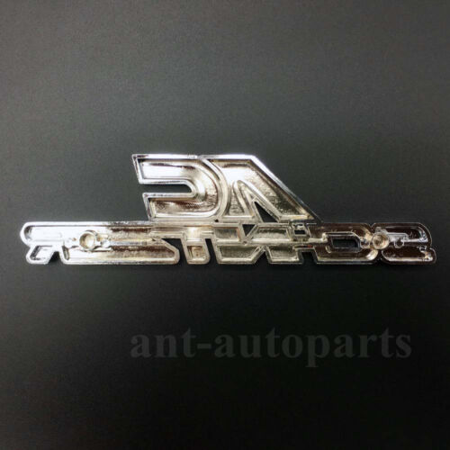 Metal AC Schnitzer Logo Emblem Car Grille Badge Auto Trunk Rear Tailgate
