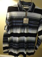 Mountain Express Knitted Full Sleeves Mens Shirt Size M