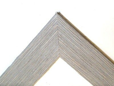 "1.5"" Wide Rustic Gray Barnwood Picture Frame-standard size & custom made"