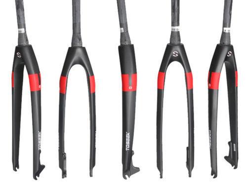 26 27.5 29  Full Carbon Fiber UD Mountain  Road Bike Rigid Disc Brake Taper Fork  are doing discount activities