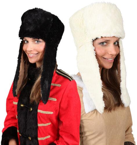 Fellmütze zum Russen Kosaken Kostüm an Karneval Fasching