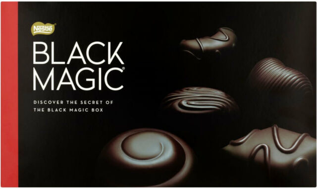 Nestle Black Magic 348g Classic Selection Of 36 Dark Chocolate Ideal Gift