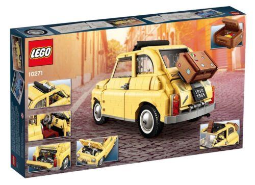 Lego Creator Expert-Fiat 500-10271-vendedor bnisb-Au