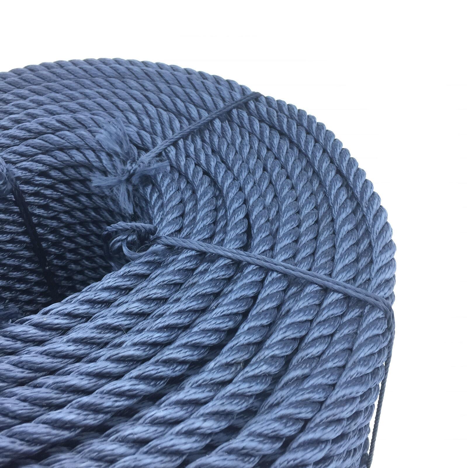 24mm marineblau 3-Strang Multifilament x 50 m (schwimmende Seil) Seil Softline Seil Seil) a20fb9