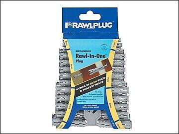 2019 Nieuwste Ontwerp Rawlplug Rawl-in-one Plugs (clip Of 48) Raw67614 Meer Kortingen Verrassingen