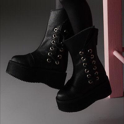 Maje boots Dollmore 14// BJD Scale  shoes Size MSD Black