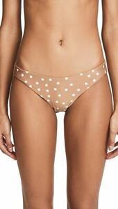 L Space Slated Glass Sandy Seamless Bikini Bottoms Women/'s Size M 11305