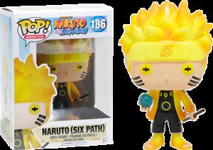 FUNKO-POP-Naruto-Shippuden-Six-Path-186-Action-Figure-Nuovo-Da-Collezione-New