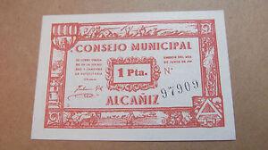 BILLETE-CONSEJO-MUNICIPAL-DE-ALCANIZ-TERUEL-1-PESETA-1937-GUERRA-CIVIL-ESPANOLA