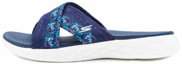 Skechers Mule Slip 15306' Sandali On Ladies 'monarch Navyblu