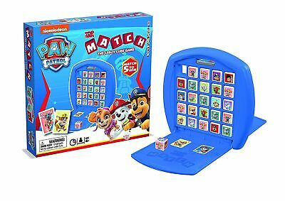Winning Moves Paw Patrol Match Jeu de plateau la folle Cube jeu