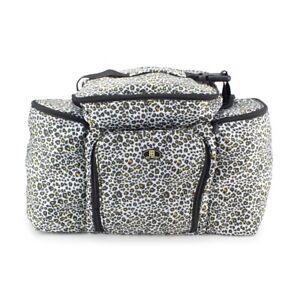 Details about Belita, Beautcians and Manicurist Makeup Tool Bag, Cosmetics Case, Snow Leopard