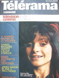 1355-MARIANNE-EPIN-BARYTON-GABRIEL-BACQUIER-JAMES-MASON-KRISS-TELERAMA-1976
