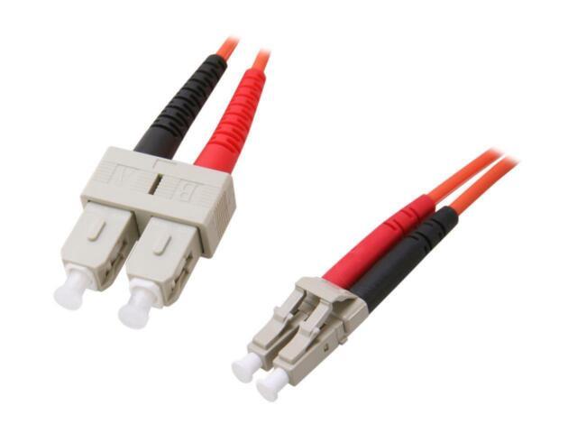 StarTech.com FIBLCSC3 9.84 ft. Multimode 62.5/125 Duplex Fiber Patch Cable Male