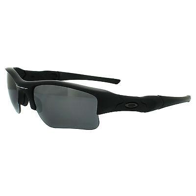 Oakley Sunglasses Flak Jacket XLJ 24-433 Matt Black Black Iridium Polarized