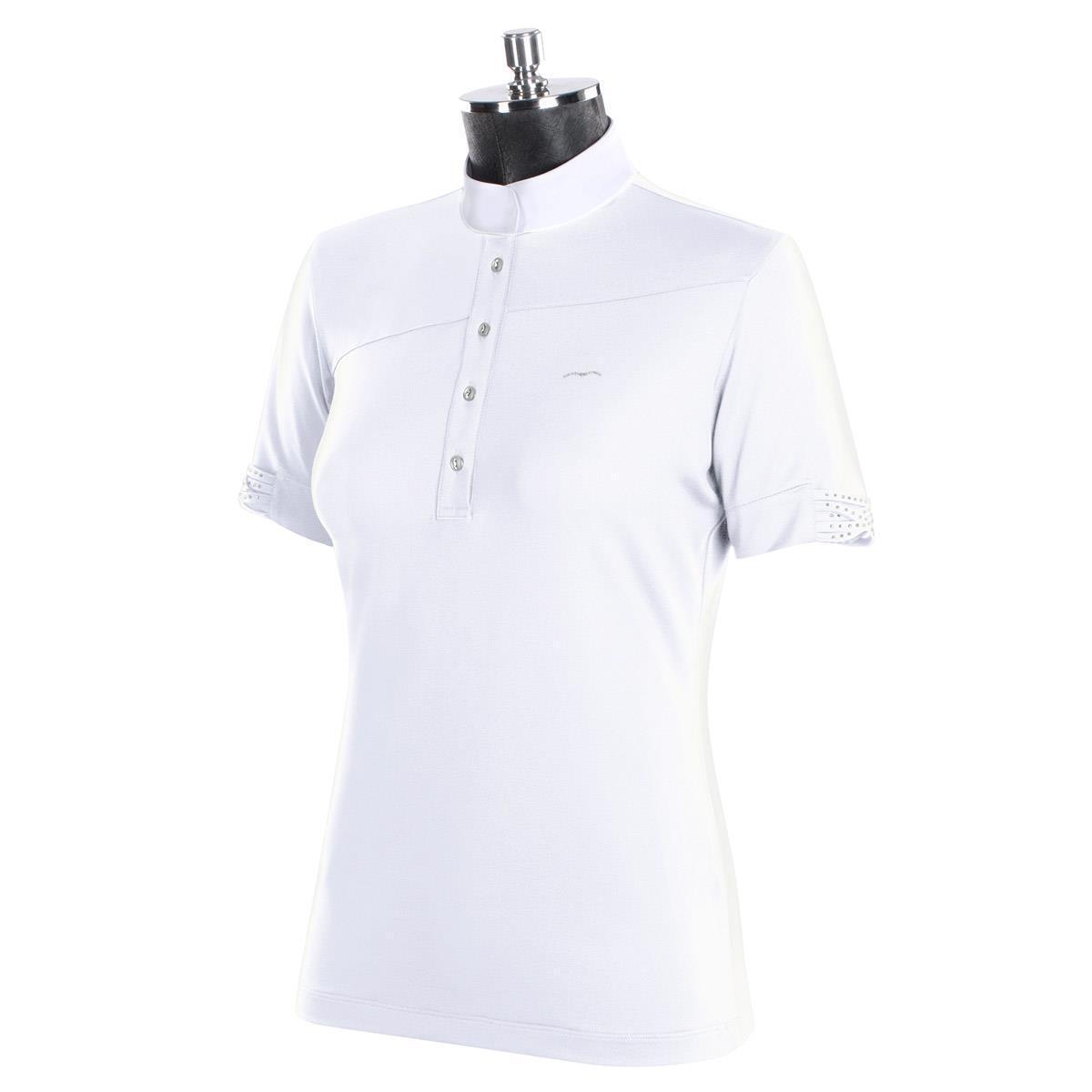 New Animo Bolis Ladies Competition Shirt - Bianco - Was .00