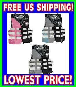 Jet Pilot Apex Women S Uscg Approved Life Vest Jacket