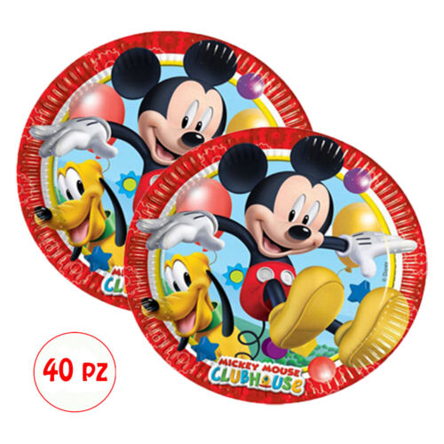 Kit Birthday Baby Mouse Party Decorations Plates Cups Tablecloth Decorations