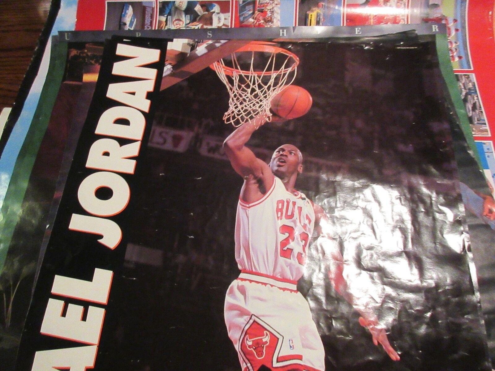 """Michael Jordan , Poster , Gaterade , 18"""" X 27"""""""