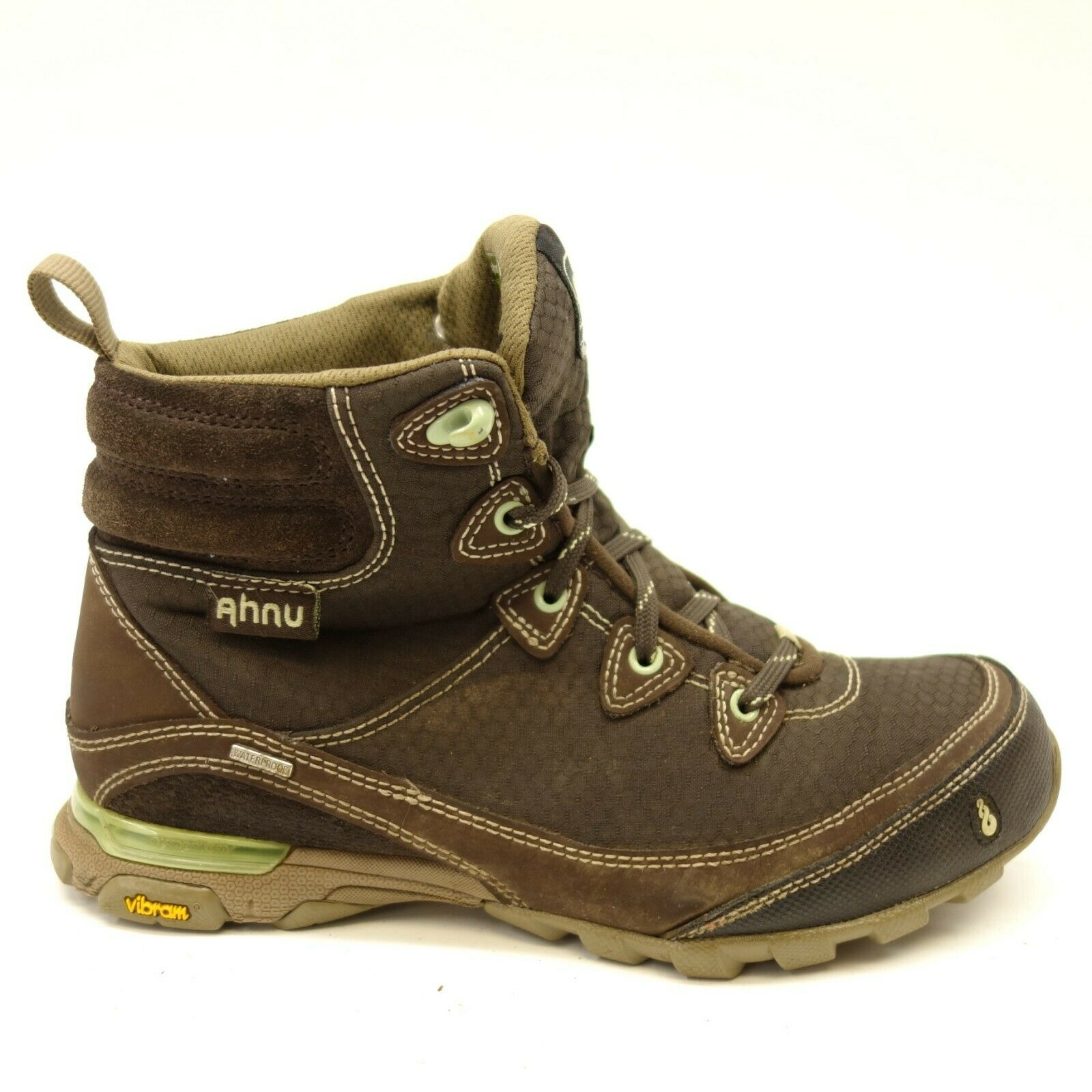 Ahnu Womens Sugarpine II WP Waterproof Athletic Trail Hiking Boots Sz 6.5