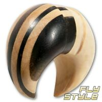 Holz Ohr Klaue claw sichel piercing pincher talon wood organic flesh plug tunnel