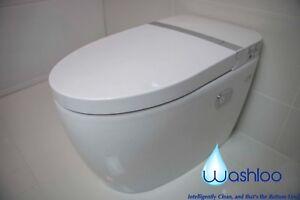 washloo prestige uk based smart toilet bidet combined wash and dry japanese ebay. Black Bedroom Furniture Sets. Home Design Ideas