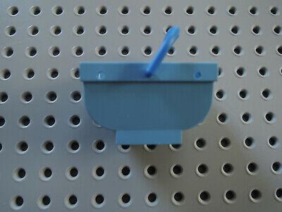 1x Lego Möbel Wanne weiss 6x12 Badewanne Badezimmer Bad Belville 30018