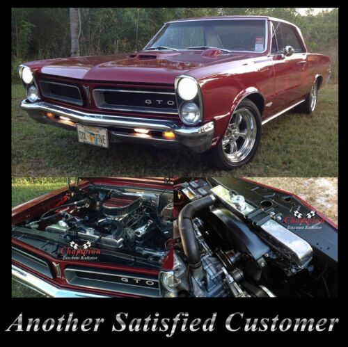 Champion Racing 3 Row Aluminum Radiator For 1965-67 Pontiac Cars
