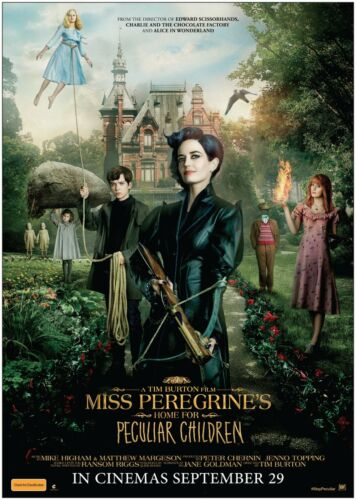 Miss Peregrine/'s Home for Classic Movie Poster Art Print A0 A1 A2 A3 A4 Maxi