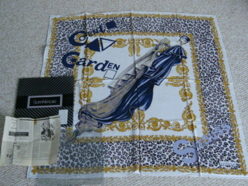Gianni Receipt Covent Garden 1991 seta Versace Strauss Grande Bnib sciarpa di 08nOwPk