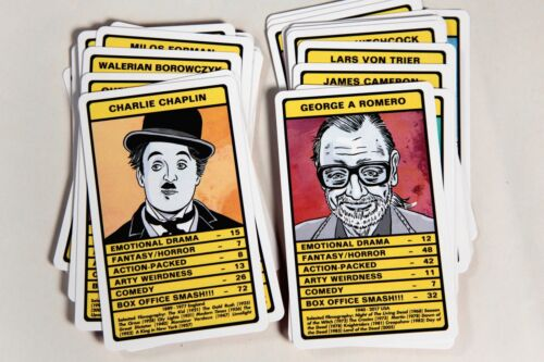 Film Director Trumps Vol.2 Card Game Hitchcock, Stanley Kubrick, Werner Herzog