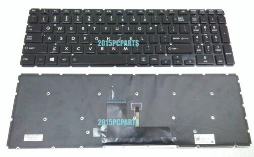 New US Toshiba Satellite P50W-B P55W-B S50-B S55-B S55T-B Keyboard Backlit