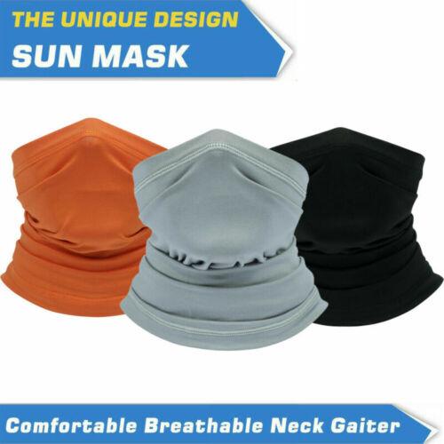 Tube Scarf Bandana Face Mask Mouth Cover Gaiter Multi-use Head Wear