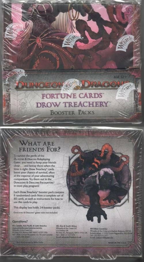 D &D Fortune bilds  Drew Treachery Booster låda