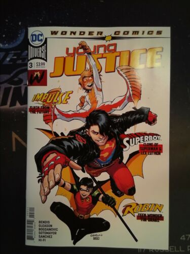 Young Justice #3 DC Universe VF//NM 9.0 CB5515