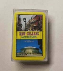"""Miniature Playing Cards Deck, 2-1/2"""" x 1-3/4"""", New Orleans Theme"""